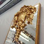 Venedik Model Altın Renk Dekoratif Niş Ayna-8