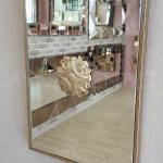 Venedik Model Gümüş Renk Dekoratif Niş Ayna-10
