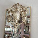 Venedik Model Gümüş Renk Dekoratif Niş Ayna-6