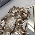 Venedik Model Gümüş Renk Dekoratif Niş Ayna-8