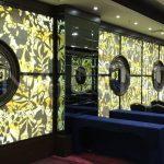 Bombeli Model Dekoratif Ayna