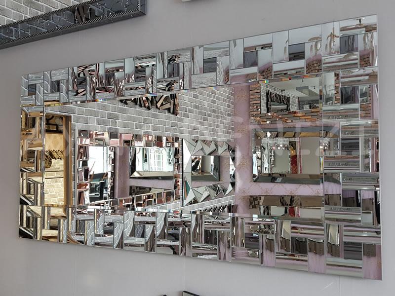 Curved Model Modern Ayna