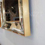 Allah C.C. Hz.Muhammed Yazılı Model Altın Renk Ayna Çerçeveli Tablo-23
