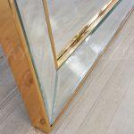 Ayna Çerçeveli Model Altın Renk Ayaklı Boy Aynası-15