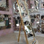 Ayna Çerçeveli Model Altın Renk Ayaklı Boy Aynası-2
