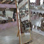 Ayna Çerçeveli Model Altın Renk Ayaklı Boy Aynası-4