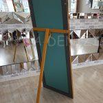 Ayna Çerçeveli Model Altın Renk Ayaklı Boy Aynası-9