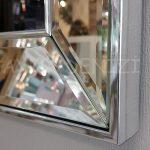 Elif Lam Mim Yazılı Model Gümüş Renk Ayna Çerçeveli Üçlü Tablo-20