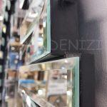 Güneş Silver Jet Black Model Gümüş Siyah Renk Dekoratif Aynalı Duvar Saati-16