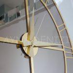 Gold Bronze Model Altın Bronz Renk Dekoratif Aynalı Duvar Saati-20