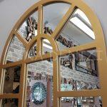 Galata Model Altın Renk Dekoratif Pencere Ayna-11
