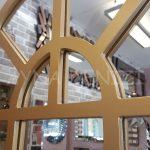 Galata Model Altın Renk Dekoratif Pencere Ayna-13