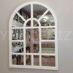 Galata Model Beyaz Renk Dekoratif Pencere Ayna-1