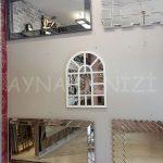 Galata Model Beyaz Renk Dekoratif Pencere Ayna-10