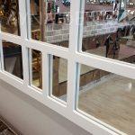 Galata Model Beyaz Renk Dekoratif Pencere Ayna-18