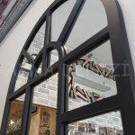 Galata Model Siyah Renk Dekoratif Pencere Ayna-13