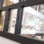 Galata Model Siyah Renk Dekoratif Pencere Ayna-19