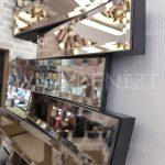 Güneş Black Bronze Model Siyah Bronz Renk Modern Ayna-11