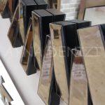 Güneş Black Bronze Model Siyah Bronz Renk Modern Ayna-12