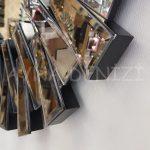 Güneş Black Bronze Model Siyah Bronz Renk Modern Ayna-14