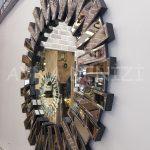 Güneş Black Bronze Model Siyah Bronz Renk Modern Ayna-7