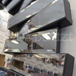 Güneş Black Smoked Model Siyah Füme Renk Modern Ayna-17