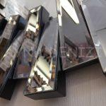 Güneş Black Smoked Model Siyah Füme Renk Modern Ayna-18