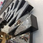 Güneş Black Smoked Model Siyah Füme Renk Modern Ayna-19