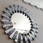 Güneş Black Smoked Model Siyah Füme Renk Modern Ayna-7