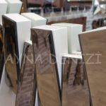 Güneş White Bronze Model Beyaz Bronz Renk Modern Ayna-19