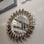 Güneş White Bronze Model Beyaz Bronz Renk Modern Ayna-5