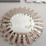 Güneş White Bronze Model Beyaz Bronz Renk Modern Ayna-9