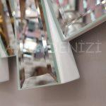 Güneş White Naturel Model Beyaz Şeffaf Renk Modern Ayna-18