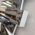 Güneş White Smoked Model Beyaz Füme Renk Modern Ayna-14