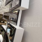 Güneş White Smoked Model Beyaz Füme Renk Modern Ayna-20