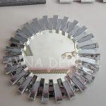 Güneş White Smoked Model Beyaz Füme Renk Modern Ayna-9