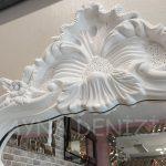 Vintage Madam Model Beyaz Renk Boy Aynası-13