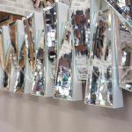 Akustik White Small Silver Model Beyaz Şeffaf Renk Modern Ayna-14