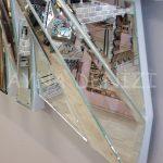 Akustik White Small Silver Model Beyaz Şeffaf Renk Modern Ayna-16