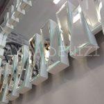 Akustik White Small Silver Model Beyaz Şeffaf Renk Modern Ayna-18