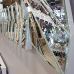 Akustik White Small Silver Model Beyaz Şeffaf Renk Modern Ayna-23
