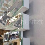 Akustik White Small Silver Model Beyaz Şeffaf Renk Modern Ayna-24