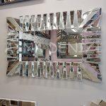 Akustik White Small Silver Model Beyaz Şeffaf Renk Modern Ayna-3