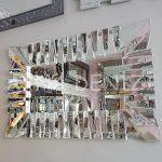 Akustik White Small Silver Model Beyaz Şeffaf Renk Modern Ayna-8