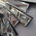 Güneş Piyano Black Silver Model Siyah Şeffaf Renk Modern Ayna-13