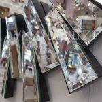 Güneş Piyano Black Silver Model Siyah Şeffaf Renk Modern Ayna-16