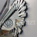 Güneş Piyano Black Silver Model Siyah Şeffaf Renk Modern Ayna-21