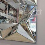 Hipnoz Small Silver Model Modern Ayna-14