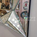 Hipnoz Small Silver Model Modern Ayna-15