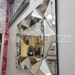 Hipnoz Small Silver Model Modern Ayna-16